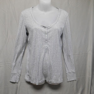 Victoria Secret silver sparkly top large